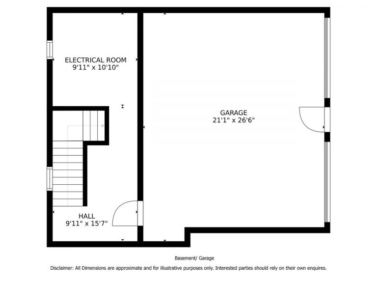 Basement Garage Floor Plan