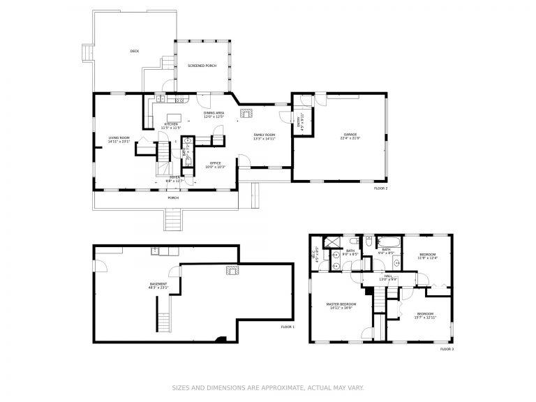 208 Snook Road Goffstown NH 03045 Floor Plan