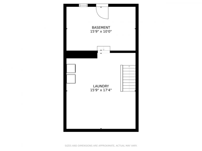 509 Hall St Bow NH 03304 Basement Floor Plan