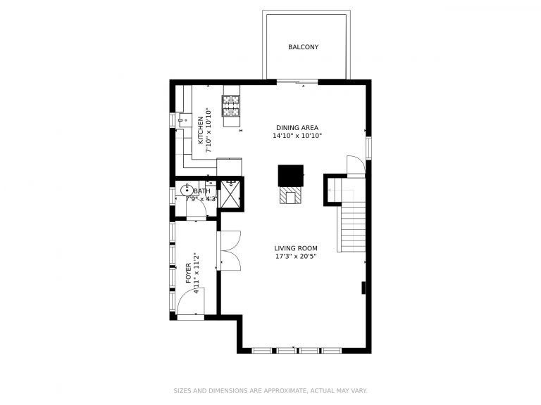 509 Hall St Bow NH 03304 Floor Plan of First Floor