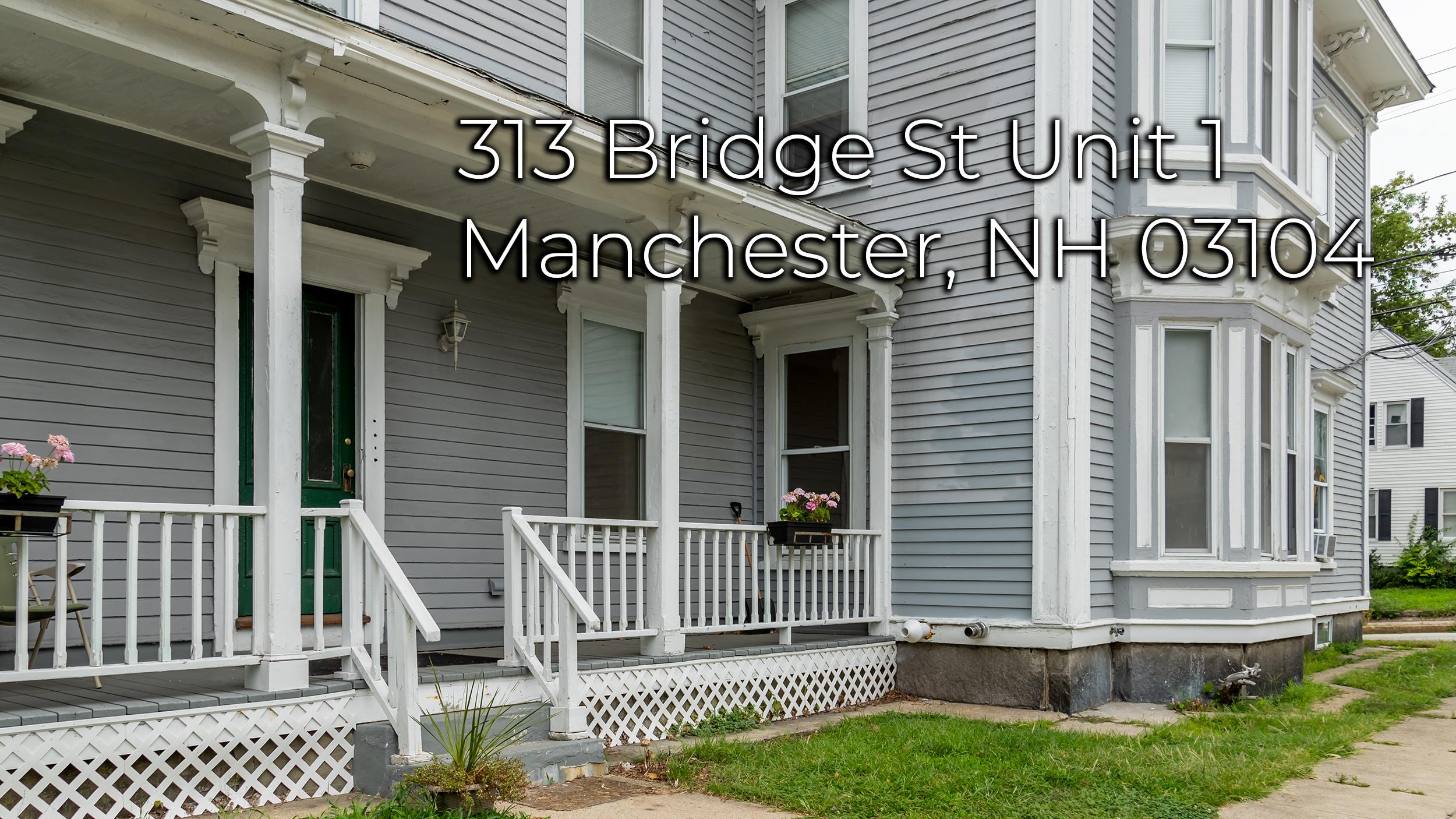 313 Bridge St Unit 1 Manchester NH 03104
