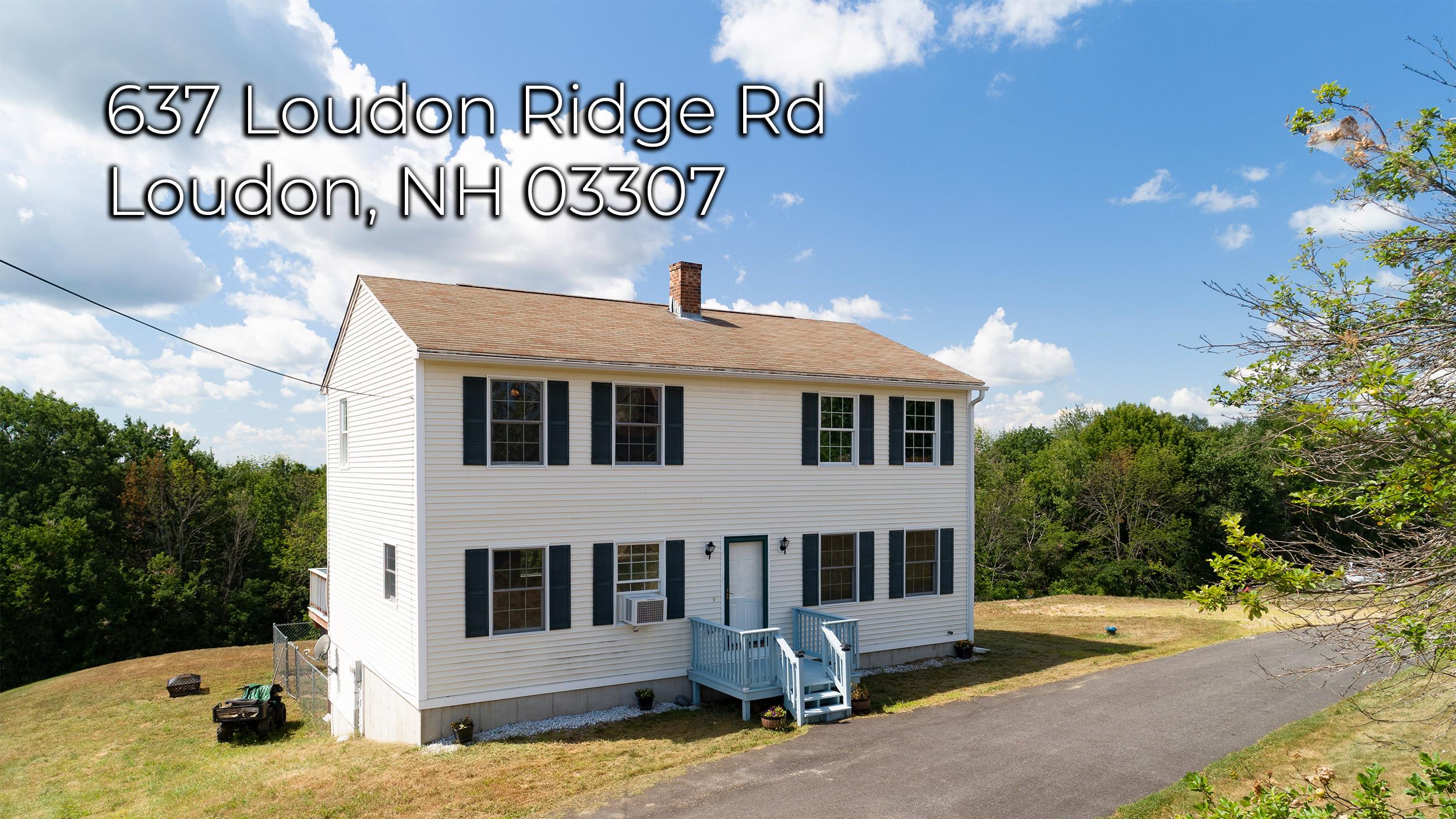 637 Loudon Ridge Rd Loudon NH 03307
