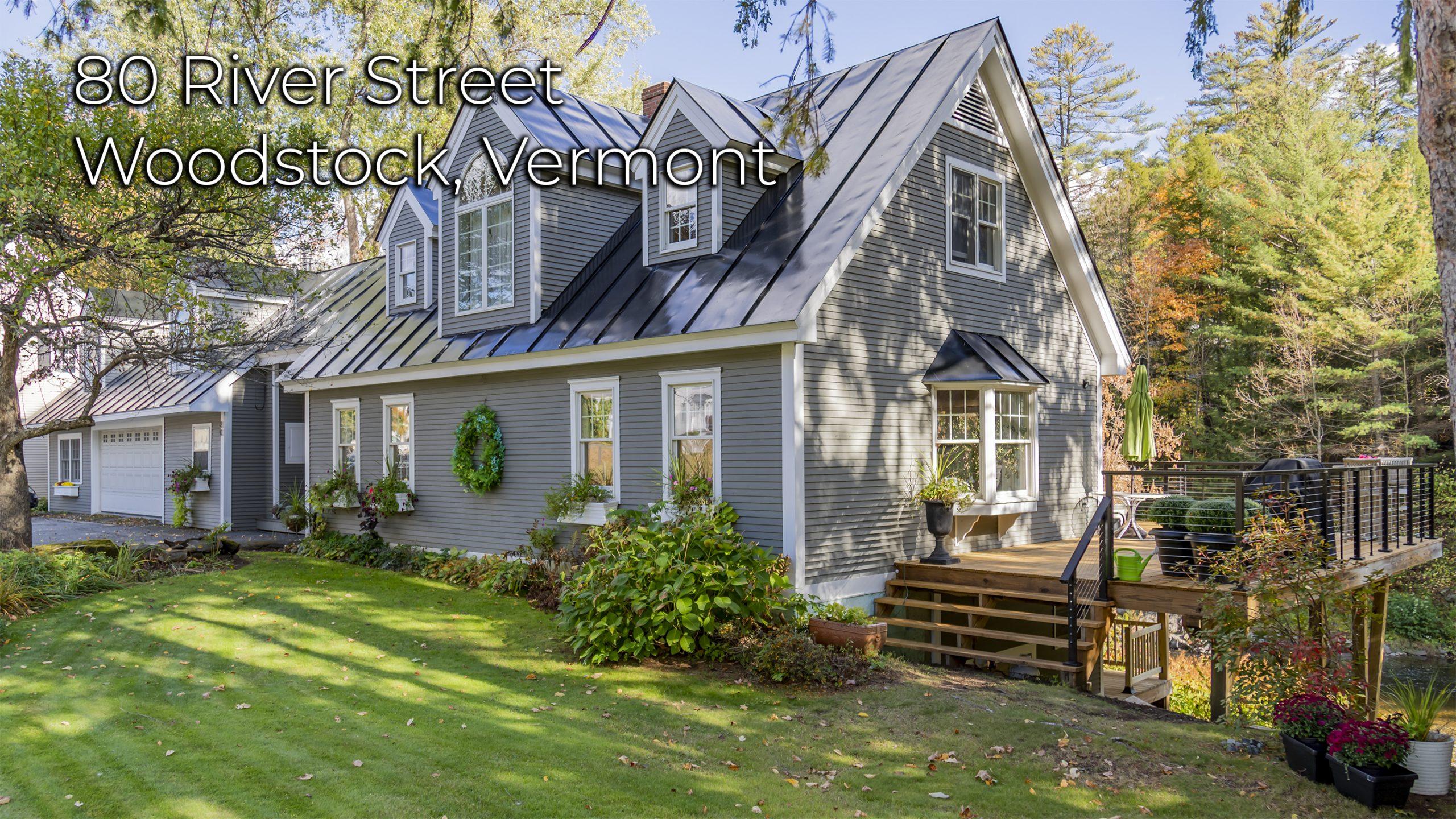 80 River St Woodstock VT 05091