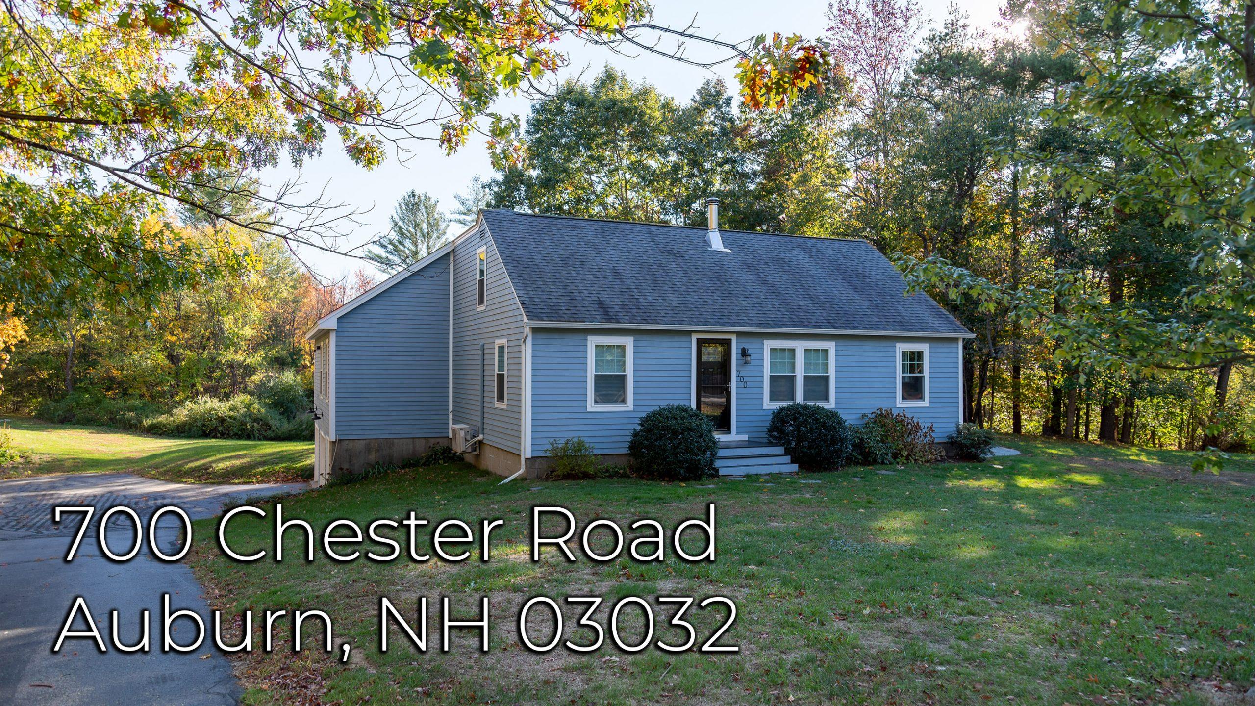 700 Chester Rd Auburn NH 03032