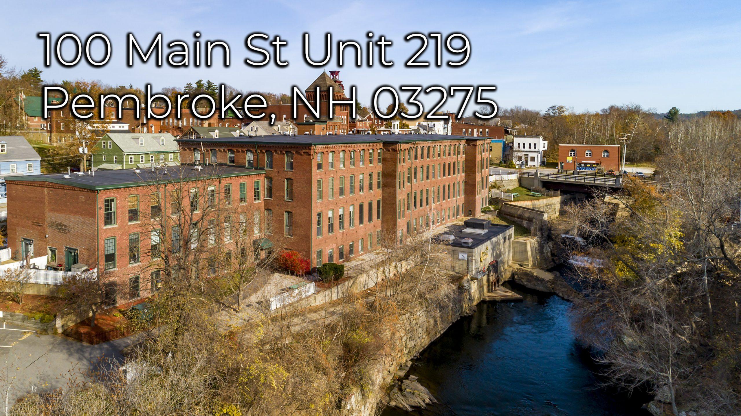 100 Main St Unit 219 Pembroke NH 03275