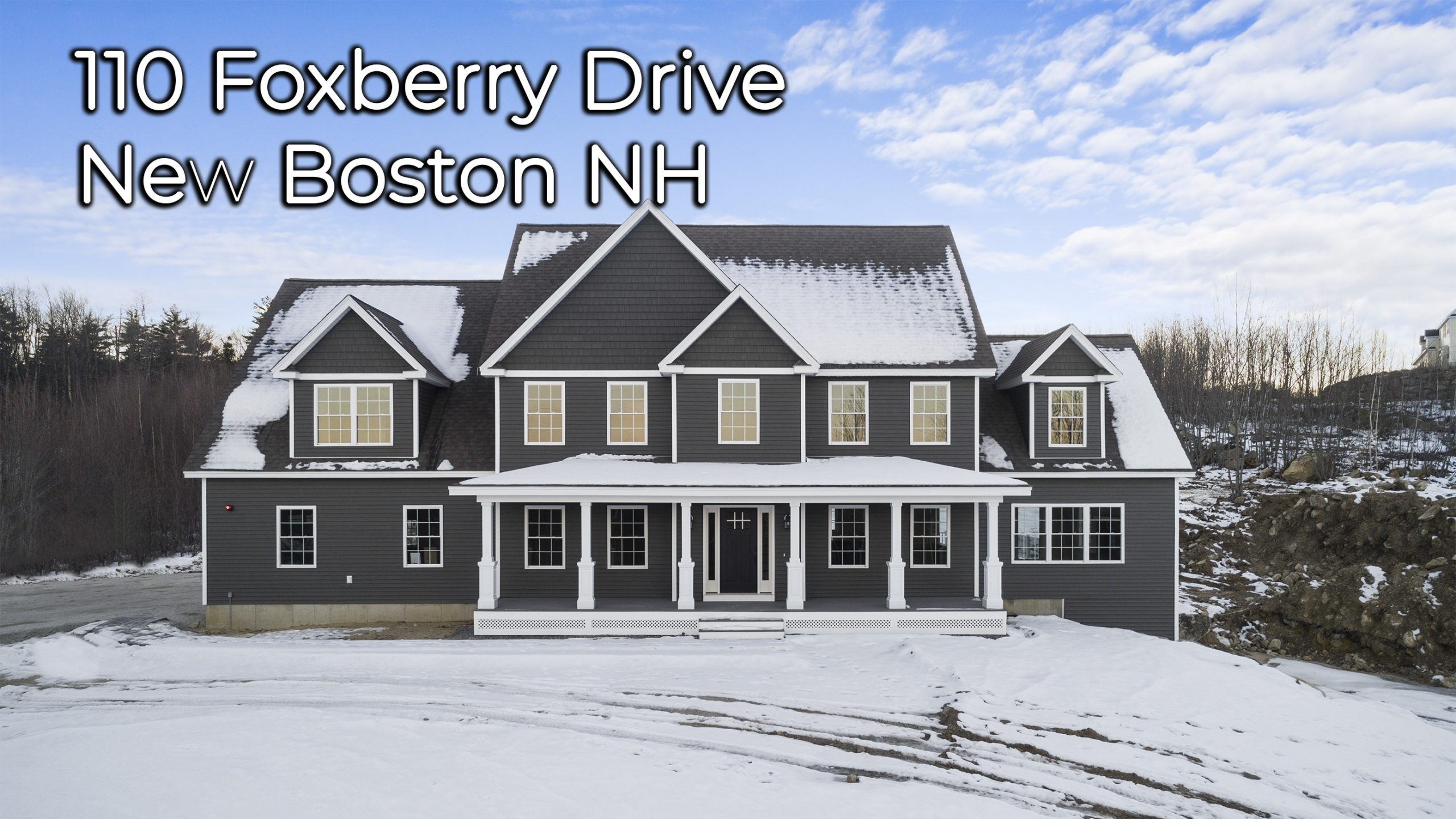 110 Foxberry Drive New Boston NH 03070