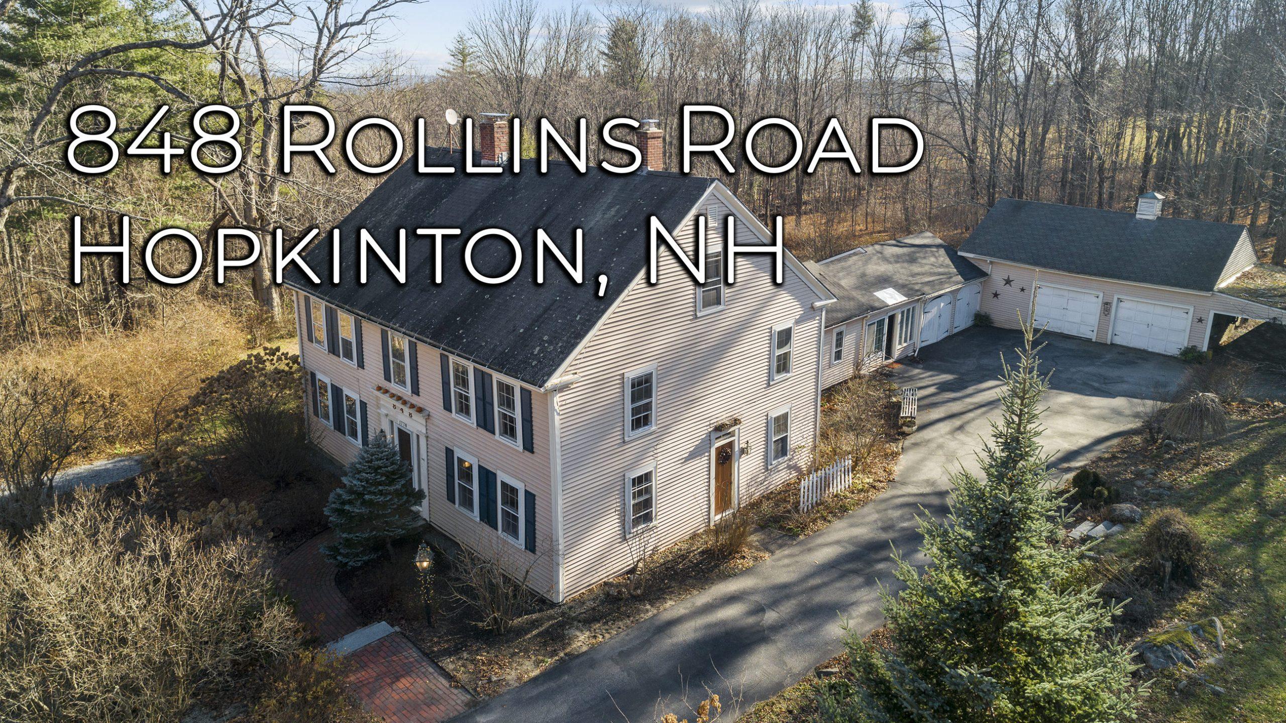848 Rollins Rd Hopkinton NH 03229